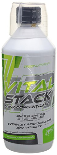 TREC Nutrition Vital Stack Framboise Fever 500 ml