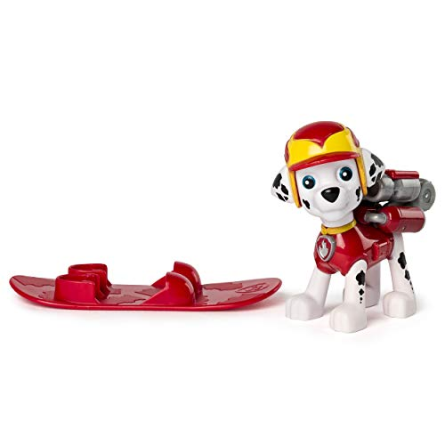 Nick Jr. Paw Patrol Held Pup SNOWBOARD MARSHALL Action Pack Pup Action-Figur