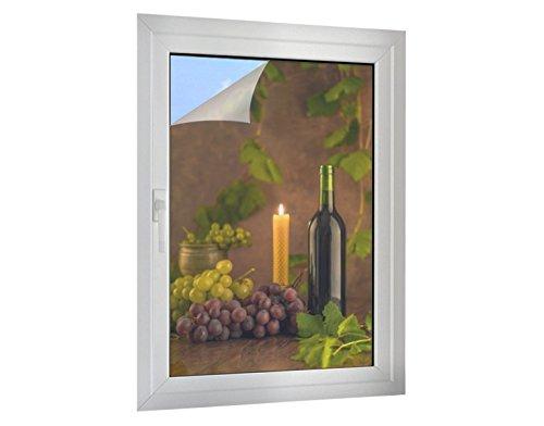Klebefieber Sichtschutz Wein & Trauben B x H: 80cm x 120cm
