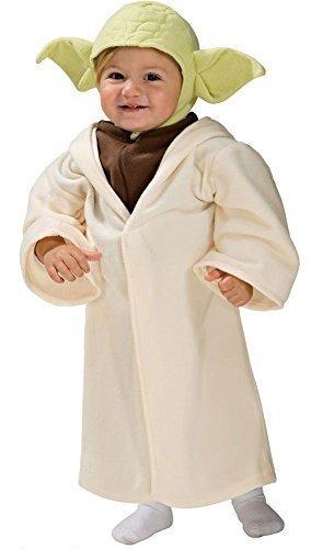 Toddler Baby Mädchen Jungen Star Wars Yoda Darth Vader Prinzessin Leia Halloween Kostüm Kleid Outfit 12-24 Monate 1-2 Jahre - Yoda, 12-24 Months, 12-24 Months (Star Wars Prinzessin Leia Kostüm Baby)