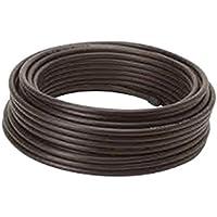 Rollo DE Cable DE Antena RG6 100M Color Negro Cubierta PE Eco