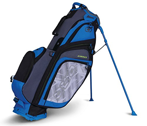 OGIO 2018Cirrus Sac de Golf avec Support, Cirrus Stand Bag, Burst Blue