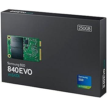 Samsung MZ-MTE250BW mSATA interne SSD 250GB silber