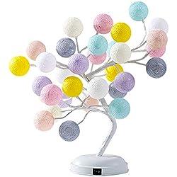 KKCF LED Tischlampe Dekorativer Baumast, Modernes Design Für Home Office Hochzeit Weihnachten Halloween Dekor Geschenke,A