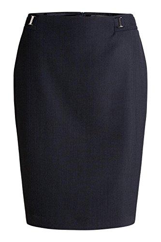 ESPRIT Collection Damen Rock Blau (NAVY 400)
