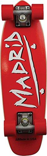 Madrid Skateboards Midget Party RED Mini Cruiser -