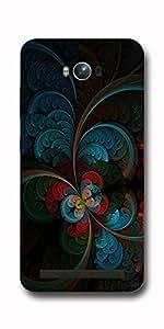 SEI HEI KI Designer Back Cover For Asus Zenfone Max ZC550KL - Multicolor