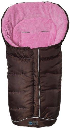 Altabebe AL2204 - 15 Winterfußsack, Deluxe Linie, braun - rosa (Deluxe Fleece-zubehör)