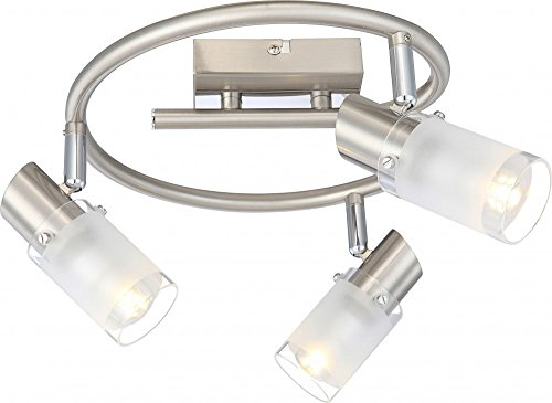 timeless-led-ceiling-light-satin-nickel-satin-chrome-glass-cylinder-edge-top-and-bottom-clear-4w-glo