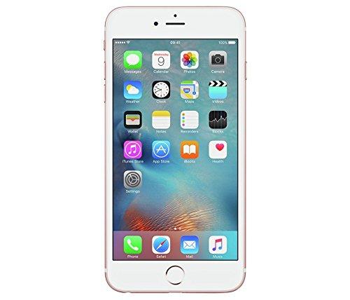 Image of Apple iPhone 6S Plus, 64GB, GB-Version, Smartphone, Smartphone ohne SIM–Gold, aluminium, rose gold, 128 GB