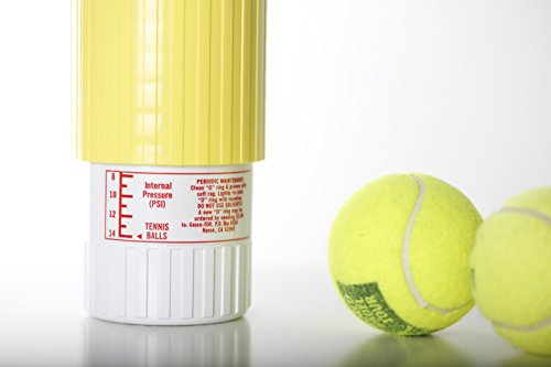 Tennis Ball Saver - Keeps Tennis Balls and Padel Balls Fresh and Bouncing Like New - Stores balls at the same pressure as in the original canister, extending their life up to five times - The original one Made in USA, the only one that works.