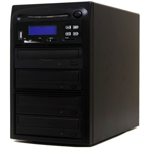 Systor 1-3 M-Disc CD DVD Kopier und USB / SD / CF zu M-Disc CD DVD Kopierer Backup-Turm