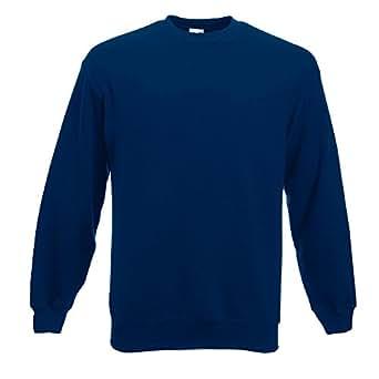 Fruit of the Loom - Sweatshirt 'Set-In' XL,Navy