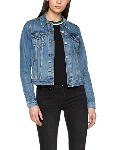 Levi's Damen Jeansjacke Original Trucker, Blau (Chronicles 0020), Large