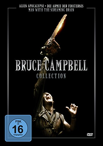 Bruce Campbell Collection : Armee der Finsternis - Alien Apocalypse - Man With The Screaming Brain [3 DVDs]