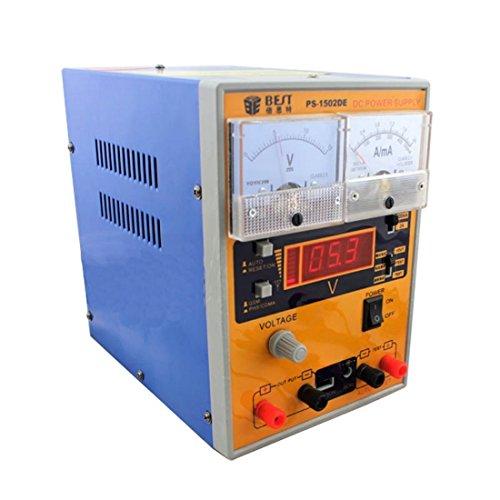 Kits de reparación, MEJOR BST-1502DE CA 220V reparación del teléfono móvil Herramienta 2A 15V DC fuente de alimentación regulada, enchufe de la UE ( SKU : S-ETP-2331B