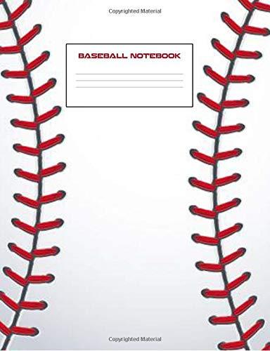 Baseball Notebook: Baseball Notebook 7.44