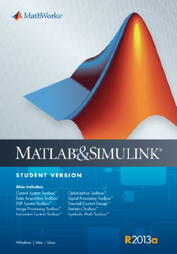 MATLAB & Simulink Student's Version 2013a