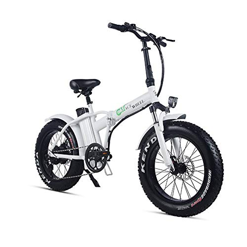 "41Xk5J50ScL. SS500  - XXCY Folding Electric Bike 500w 48v 15ah 20"" * 4.0 Fat Tire e-bike LCD Display with 5 Levels pas speed"
