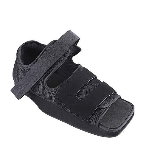 XIHAA Hinterfuß-Dekompressions-Schuhe, Gesundheits-Walker-Stiefel-Schuhe Justierbarer Rehabilitations-Matten-Schuh Hinterer Fuß Dekompressions-Schuh, Hinterer Fuß Fraktur-Fixierung,XS -