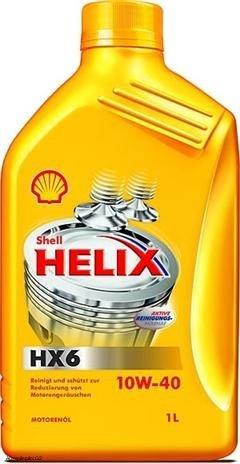SHELL Helix HX6 10W40 - Botella 1 Litro