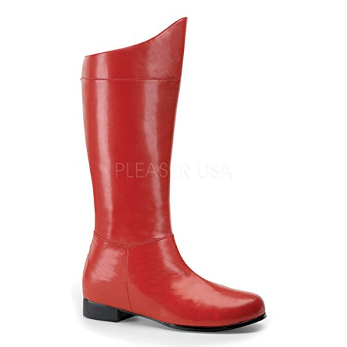 Funtasma Superman/Spiderman-Stiefel Hero-100 rot 41 bis (Superhelden Rote Stiefel)