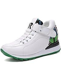 BUSL Zapatos atléticos de mujer Otoño Invierno Confort grueso sigilo más grueso Zapatillas de moda . white . 40