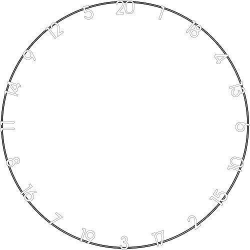 Unicorn-Metall-Nummer-Ring–Hohe Sichtbarkeit der Zahlen–für jede Dartscheibe–Außenring