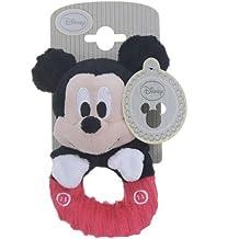 Disney - Sonajero de peluche de Mickey Mouse.