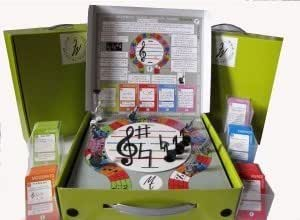 Luxury Musical Trixstar Fun Family Music Board Game Read & Learn Music Together