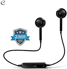 Wonderford Energic S6 Wireless Stereo Earphones V4.1 with Mic Noise Cancelling Sweatproof Sports Running Headset
