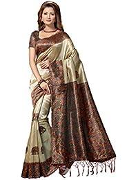Rani Saahiba Art Mysore Silk Printed Saree