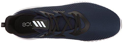 Alphabounce m scarpa da corsa da uomo Adidas Performance Collegiate Navy/White/Black