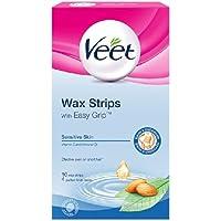 Veet Wachsstreifen Sensitive Bikini / Achsel 16 pro Packung preisvergleich bei billige-tabletten.eu