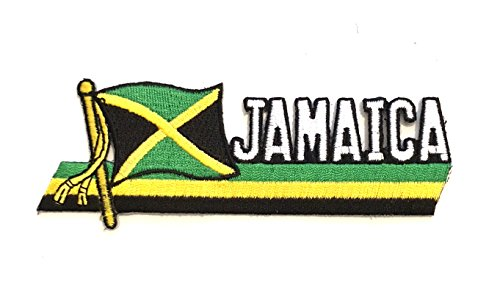 Jamaica, Jamaica Flag, Jamaica Flag Sewing Patch, hat, Jean,Jacket,Backpack  Sewing Patch