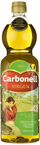 Carbonell,  Aceite de Oliva Virgen Extra, pack de 3 x 1L (Total 3L)