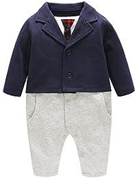 Bebone Baby Junge Kleidung Taufe Hochzeit Smoking Neugeborenen Anzug