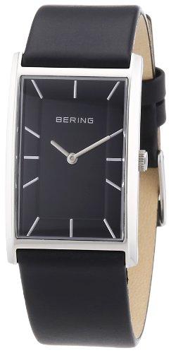 Bering Time - 30125-442 - Montre Homme - Quartz Analogique - Bracelet Cuir Noir