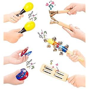 41XkDjLxiSL. SS300  - Smarkids Instrumentos Musicales Infantiles, juguetes musicales instrumentos de percusión juguetes niños educativos…