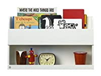 Tidy Books ® -The Original Bunk Bed Buddy™, Bunk Bed  Shelf. - Floating Shelves for Kids Storage next to Bunk Beds and Cabin Beds - Wooden Shelves - 33 x 53 x 12cm