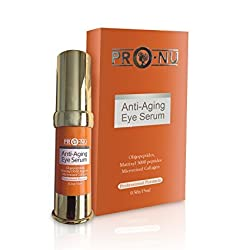 Anti-Aging Best Eye Serum To Reduces Puffiness,Wrinkles,Dark Circles, Crow s Feet & Bags with with Oligopeptides Matrixyl 3000 Peptides Micronized Collagen