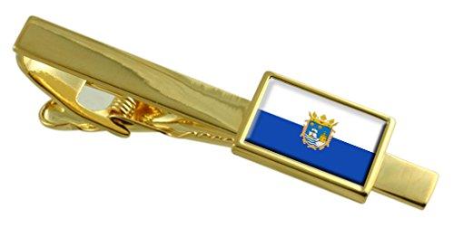 la-ville-de-santander-espagne-cravate-or-drapeau-personnalise-grave