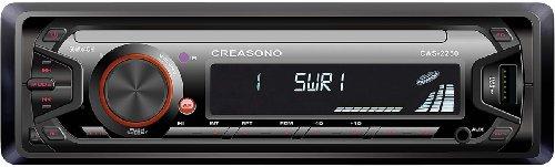 Creasono Kfz-MP3-Radios: MP3-RDS-Autoradio CAS-2250 mit USB-Port & SD-Slot, 4x 45 W (Kfz-Radio mit MP3-Unterstützung)