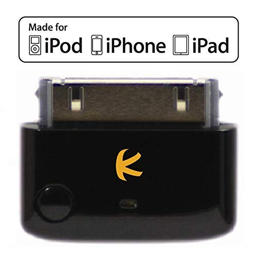 KOKKIA i10 (extravaganten Schwarz) Multi-Stream Tiny Bluetooth Transmitter für, Compatible with iPod/iPhone/iPad, Stereo-Multi-Stream (2 Empfänger kann 1 iDevice genießen), mit Authentifizierung. -