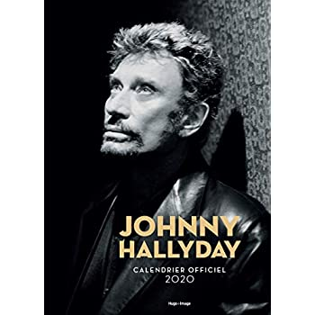 Calendrier mural Johnny Hallyday 2020