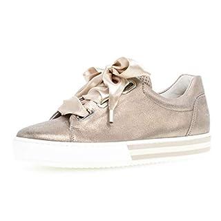 Gabor Damen Skater Sneaker 26.505.62, Frauen Sportschuh,Low-Top,Schnürer,Halbschuh,Plateau-Sohle,rame,39 EU / 6 UK