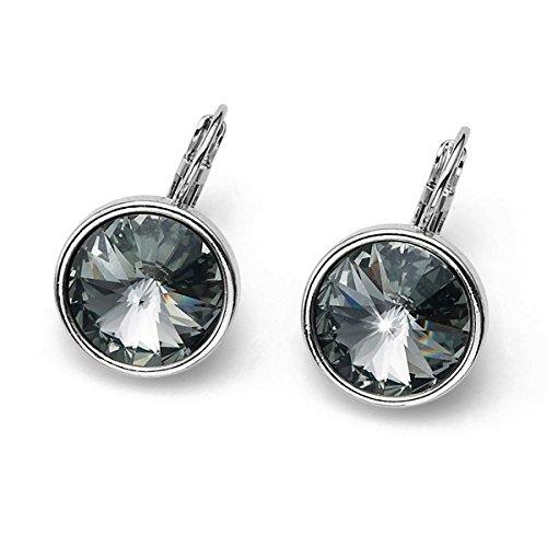 Oliver Weber Orecchino Fun rodio bl. diamond 22331 215