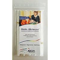 Preisvergleich für 10 Meda Ohrkerzen Erwachsene, 100% reines Naturprodukt, handgefertigt in eigener Herstellung in Deutschland, garantiert...