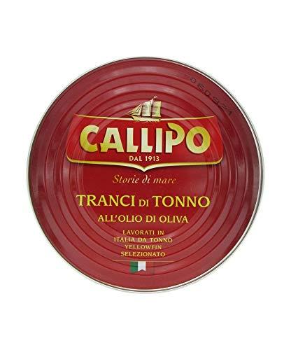 CALLIPO TRANCI DI TONNO ALL'OLIO D'OLIVA 540 GR