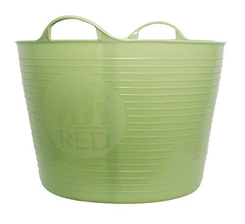 Decco Ltd Cubo Flexible, Verde, 42 litros